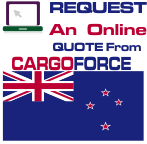 air cargo to New Zealand