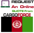 air cargo to afghanistan from uk