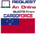 air cargo to Samoa