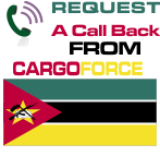 cargo to Mozambique from uk