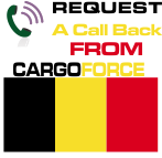 cargo to belgium from UK