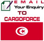 cheap air cargo to Tunisia