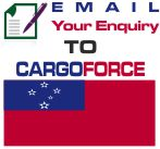 cheap air cargo to Samoa